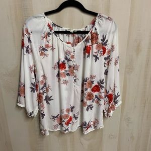 ✨3 for 20✨Artisan NY Floral Blouse Size 1X